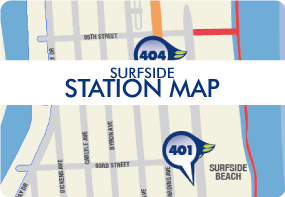 DecoBike station map